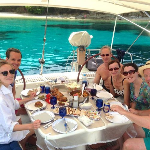 Day Charter Lunch Aboard Icarus